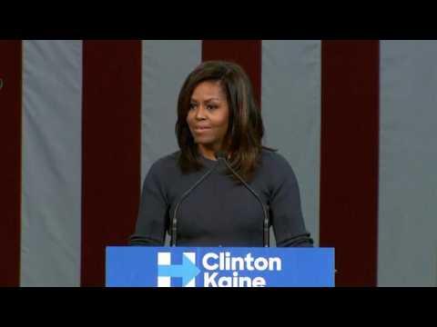 L'incroyable discours de Michelle Obama contre Donald Trump