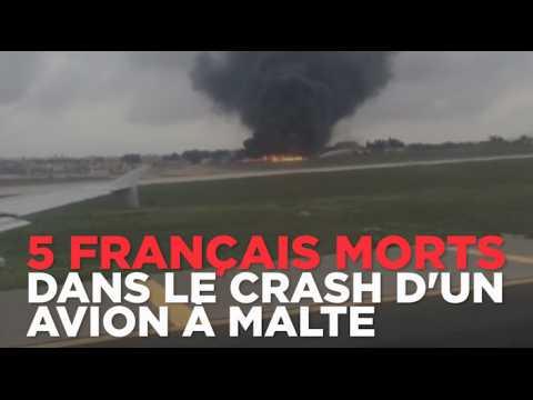 5 français sont morts dans l'accident d'un avion à Malte