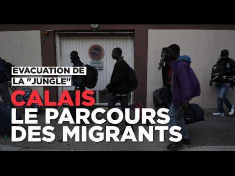 Après Calais, le parcours d'accueil des migrants