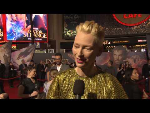 Doctor Strange World Premiere: A Stylish Tilda Swinton