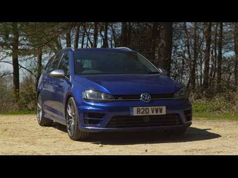 2016 VW Golf R Estate review