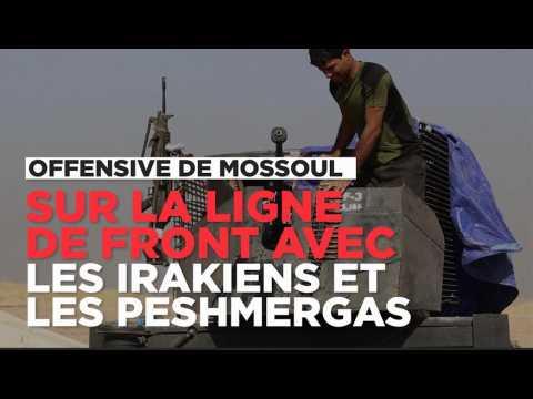 Offensive de Mossoul : sur les lignes de front avec les forces irakiennes