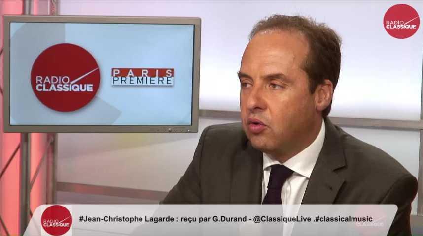 """Illustration pour la vidéo """"Nous n'avons pas décidé de soutenir Alain Juppé par anti-sarkozisme"""" Jean-Christophe Lagarde (17/10/2016)"""