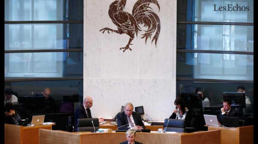 Illustration pour la vidéo L'Expresso du 18 octobre 2016 : Ceta, réunion des ministres européens suspendus à la Wallonie...