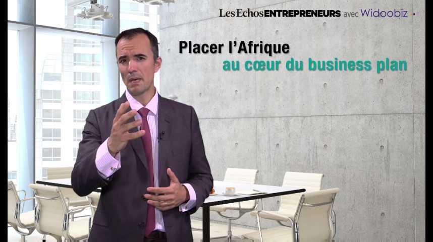 Illustration pour la vidéo L'Afrique au coeur du business plan, par Pedro Novo, de Bpifrance