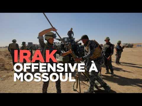 Etat Islamique : les forces irakiennes lancent l'offensive sur Mossoul