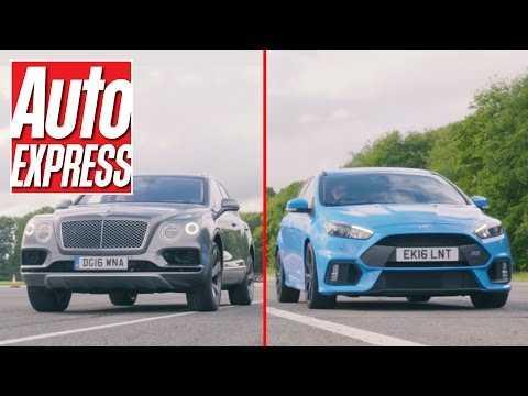 Ford Focus RS vs Bentley Bentayga: a true David vs Goliath drag race