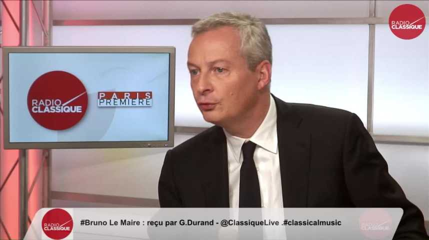 """Illustration pour la vidéo """"Je porte encore plus fort ce matin ma volonté de renouvellement total de la classe politique"""" Bruno Le Maire (09/11/16)"""