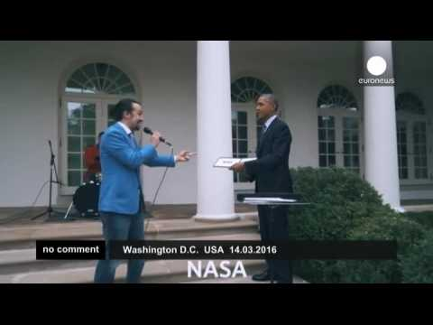 Freestyle rap in the White House