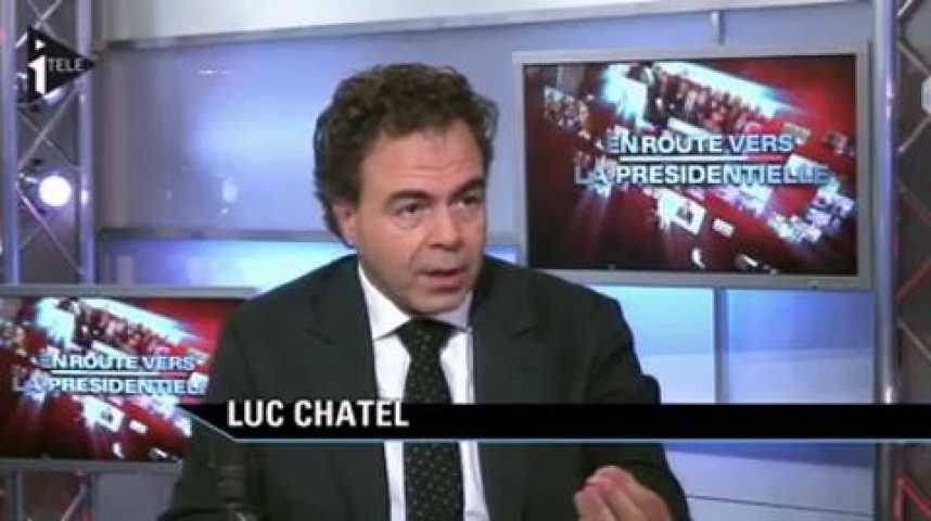 Illustration pour la vidéo Luc Chatel était l'invité de Guillaume Tabard et Michael Darmon