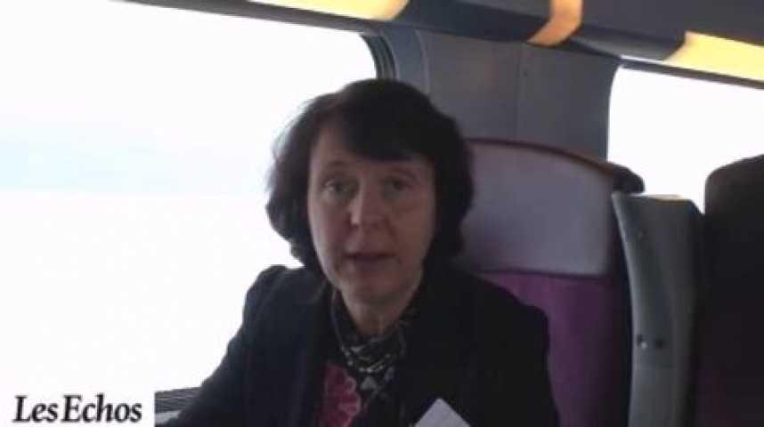 Illustration pour la vidéo Interview : La SNCF teste internet sur le TGV Est