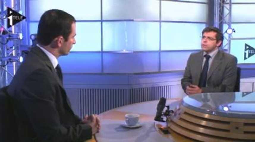 Illustration pour la vidéo Benoit Hamon était l'invité de Guillaume Durand et Michael Darmon