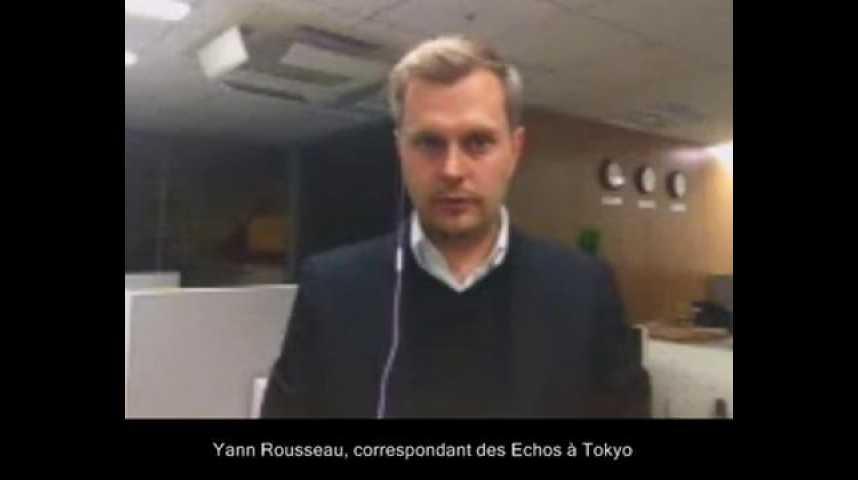 Illustration pour la vidéo Japon : distribution de pastilles d'iode à Tokyo