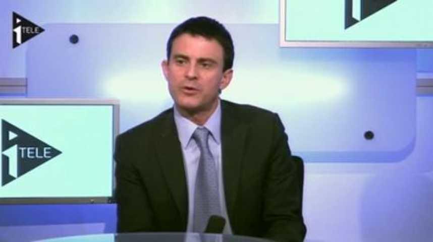 Illustration pour la vidéo Manuel Valls était l'invité de Guillaume Durand et Michael Darmon