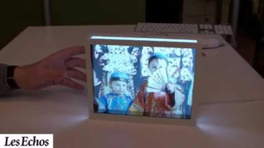 Illustration pour la vidéo DIA, le cadre photo qui s'inspire des diapos
