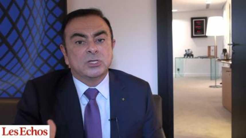 """Illustration pour la vidéo Carlos Ghosn (Renault) : """"L'accord de compétitivité représente une économie de 300 euros par voiture"""""""