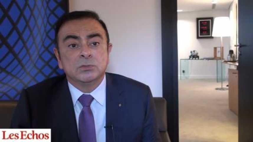 """Illustration pour la vidéo Carlos Ghosn (Renault) : """"Le signal donné par l'accord de compétitivité est celui de la responsabilité"""""""
