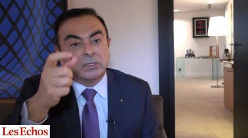 """Illustration pour la vidéo Carlos Ghosn (Renault) : """"La voiture électrique a besoin des infrastructures de recharge"""""""