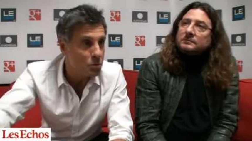 """Illustration pour la vidéo Granjon et Simoncini : """"Nous sommes les Astérix et Obélix de l'entrepreneuriat français"""