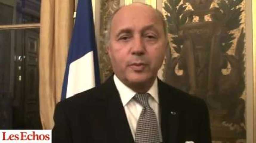 "Illustration pour la vidéo Laurent Fabius : ""Printemps arabe : il faut que la France garde un ticket de retour"""