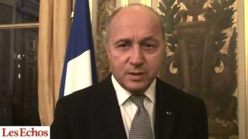 """Illustration pour la vidéo Laurent Fabius : """"Le ministère des Affaires étrangères est aussi celui des entreprises"""""""