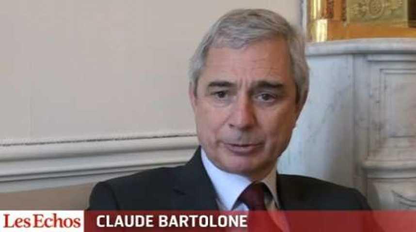 """Illustration pour la vidéo Claude Bartolone : """"Sur le fond Vincent Peillon a raison, sur la forme, la période est délicate"""""""