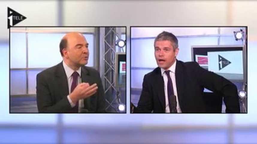 Illustration pour la vidéo Duel Pierre Moscovici et Laurent Wauquiez animé par Guillaume Durand