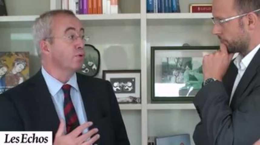 Illustration pour la vidéo Luc Oursel, président du directoire d'Areva