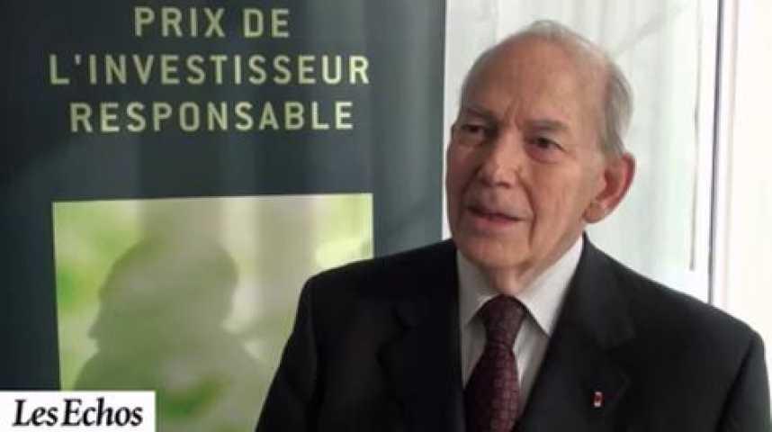 """Illustration pour la vidéo Michel Camdessus : """"L'investissement responsable est une des clés de l'économie du XXIe siècle"""""""