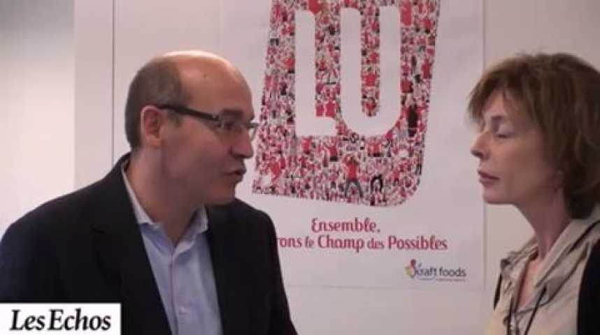 """Illustration pour la vidéo Pascal Bourdin, Kraft Food Europe : """"LU au centre de toutes nos stratégies"""""""