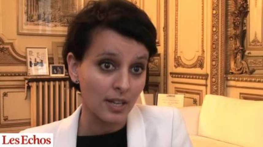 """Illustration pour la vidéo Najat Vallaud-Belkacem : """"Les sanctions tomberont pour faire respecter l'égalité professionnelle"""""""