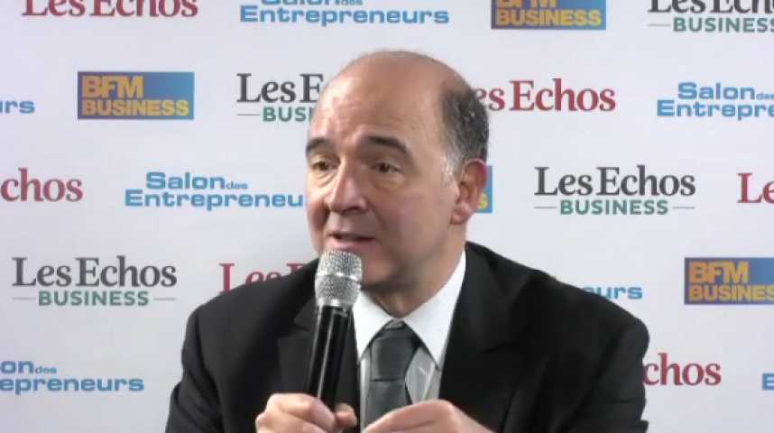 """Illustration pour la vidéo Pierre Moscovici : """"Peu de gouvernements en font autant pour les entrepreneurs"""""""