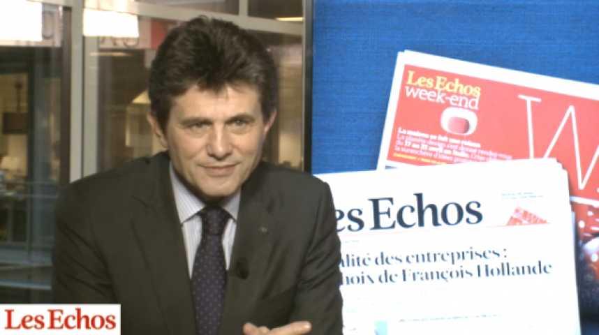 """Illustration pour la vidéo Henri de Castries (Axa) : """"L'épargne a besoin de stabilité fiscale pour se développer"""""""