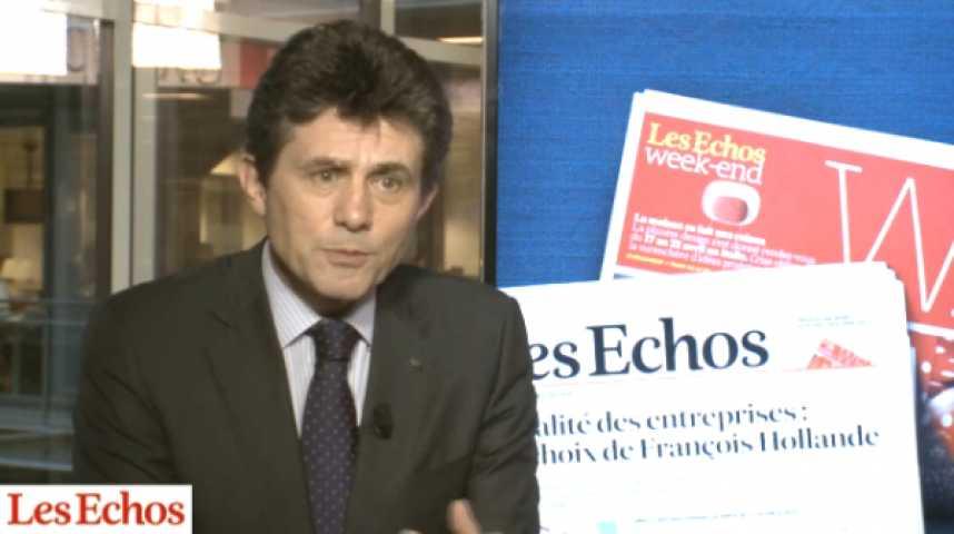 """Illustration pour la vidéo Henri de Castries (Axa) : """"Les assureurs, acteurs du financement de l'économie et de la croissance"""""""