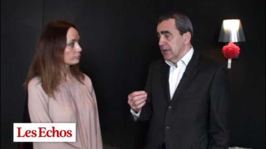 """Illustration pour la vidéo Takis Candilis, patron de Lagardère Entertainment : """"Julie Lescaut touche un peu moins qu'autrefois sa cible publicitaire"""""""