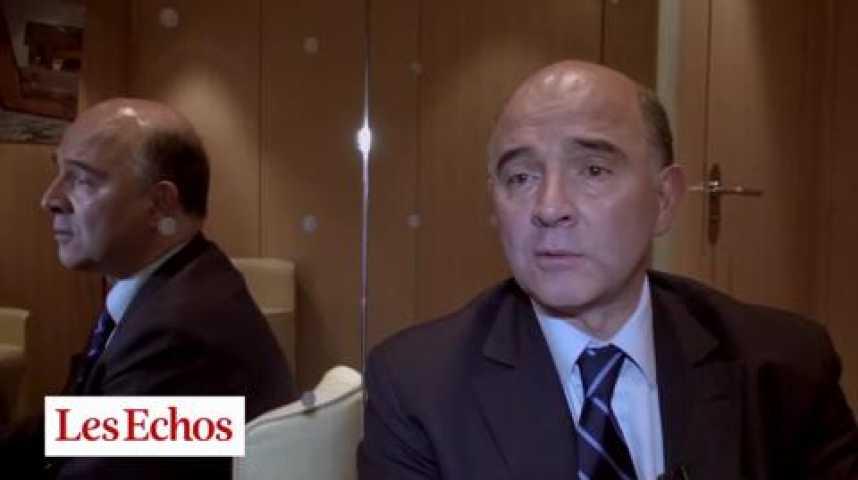 """Illustration pour la vidéo Pierre Moscovici : """"Nous irons plus loin encore sur le CICE avec le concours des banques privées"""""""