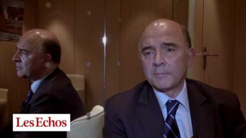 """Illustration pour la vidéo Pierre Moscovici : """"Nous avons un dialogue constructif avec la Commission européenne"""""""