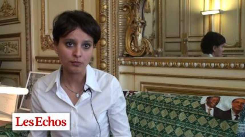 """Illustration pour la vidéo Najat Vallaud-Belkacem : """"Les services à la personne libèrent et créent de l'emploi pour les femmes"""""""