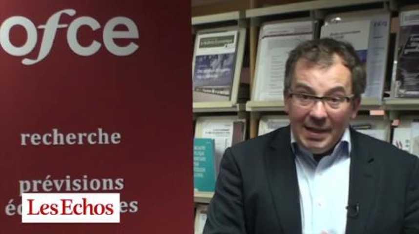 """Illustration pour la vidéo """"Baisse du chômage en 2013 ? Irréaliste"""",  Xavier Timbeau (OFCE)"""