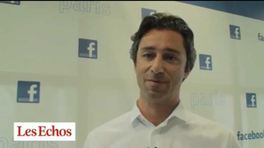 """Illustration pour la vidéo Laurent Solly : """"Les entreprises françaises veulent qu'on leur explique comment utiliser Facebook"""""""