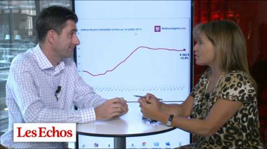 Illustration pour la vidéo Immobilier : contre toute attente, les prix continuent à monter