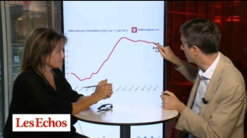Illustration pour la vidéo Immobilier : les prix à Paris et en Ile-de-France font de la résistance