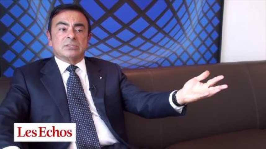 """Illustration pour la vidéo Carlos Ghosn : """"2014 sera une nouvelle année record pour le marché automobile mondial"""""""
