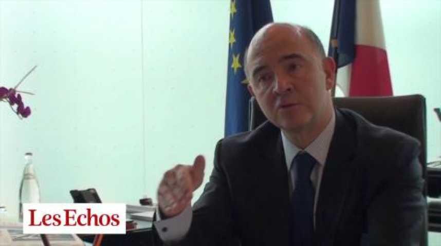 Illustration pour la vidéo P. Moscovici sur la grève des joueurs de foot