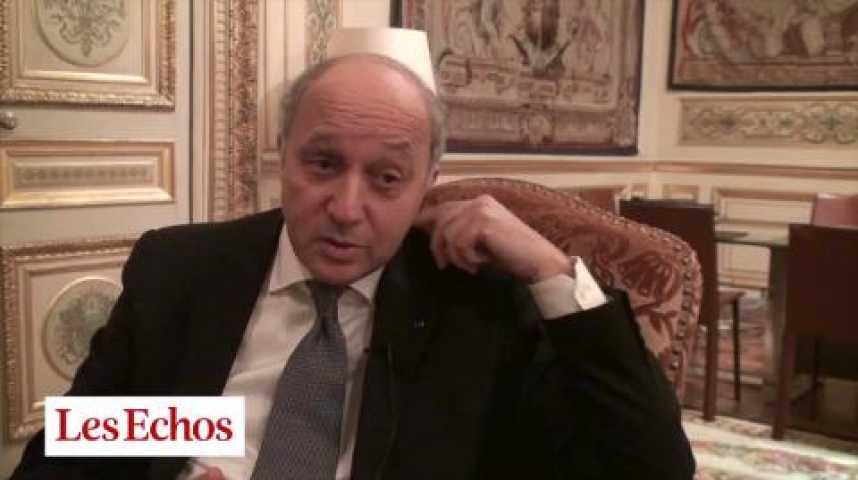 """Illustration pour la vidéo Laurent Fabius : """"Le tourisme est une mine d'or"""""""