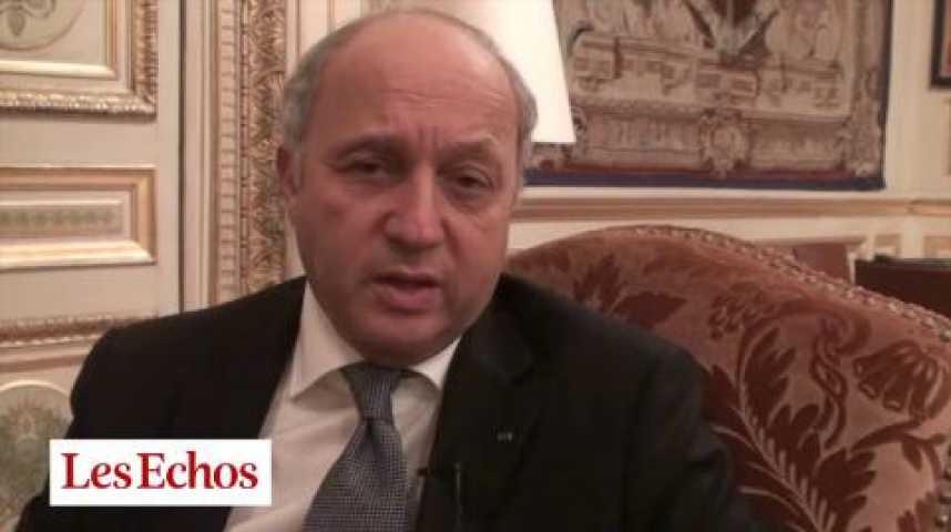 """Illustration pour la vidéo Laurent Fabius : """"La diplomatie économique est maintenant une évidence"""""""