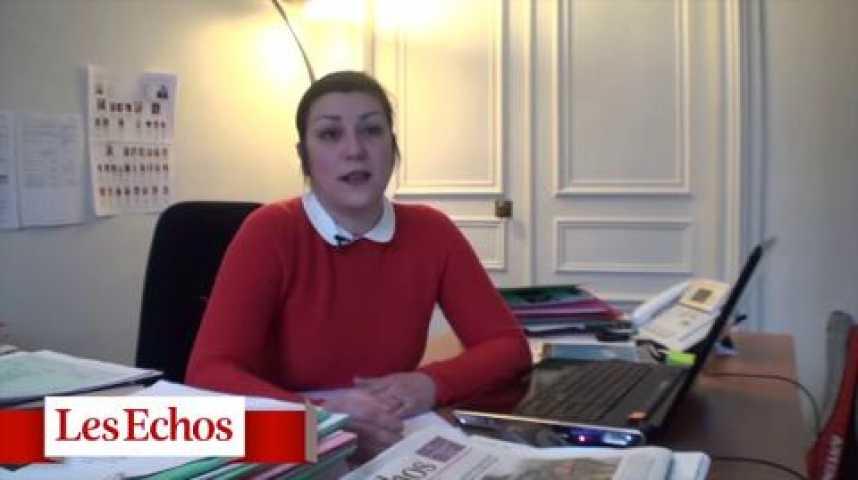 """Illustration pour la vidéo Caroline Hupin : """"Une fermeture le dimanche entraîneraît des licenciements"""""""