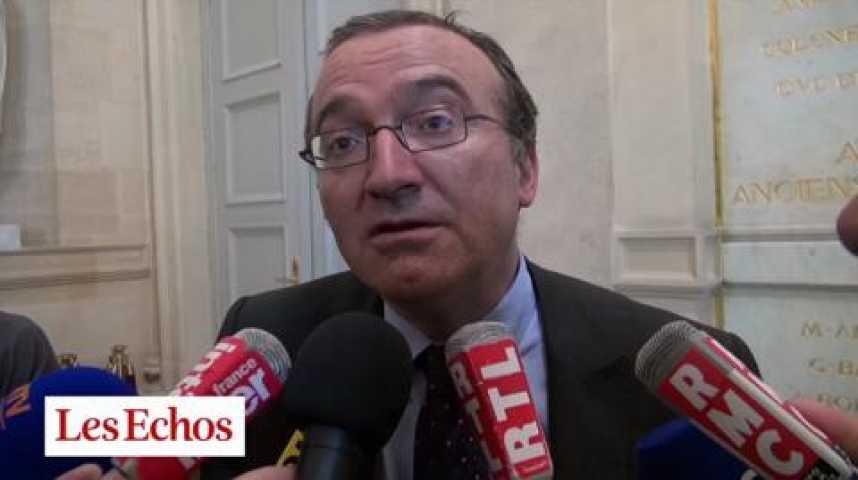 """Illustration pour la vidéo Hervé Mariton : """"Valls donne des coups de menton, sans changer de cap"""""""