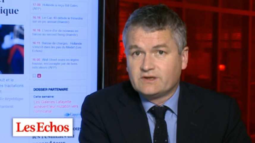 """Illustration pour la vidéo Valls-Hollande est une """"petite cohabitation"""", comme Rocard-Mitterrand"""