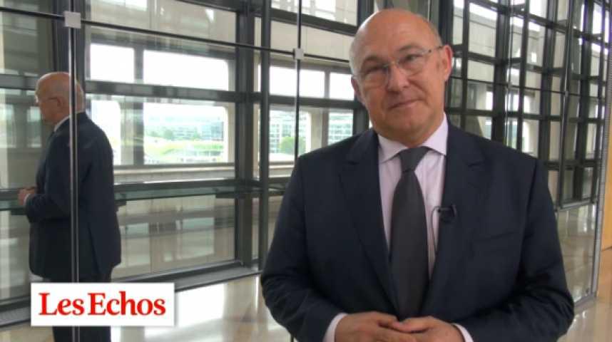 """Illustration pour la vidéo Michel Sapin sur la réforme territoriale : """"Mutualisation des moyens... et des effectifs"""""""
